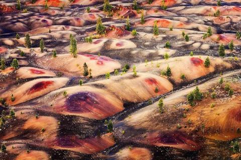 Vẻ đẹp của vùng đất mang địa hình núi lửa